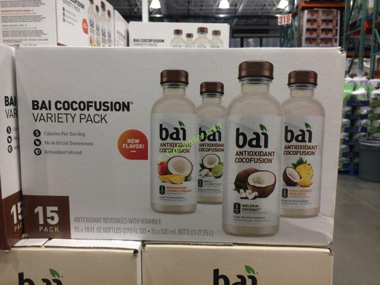 BAI Variety Pack Antioxidant Cocofusion 15/18 Ounce Bottles