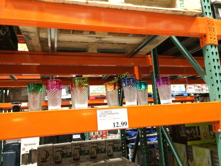 Acrylic Drinkware 8PC Set