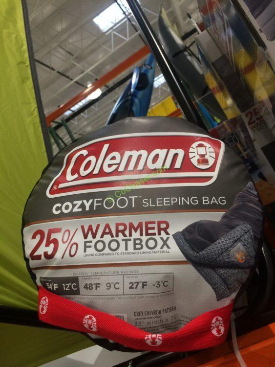 Coleman Cozyfoot Sleeping Bag