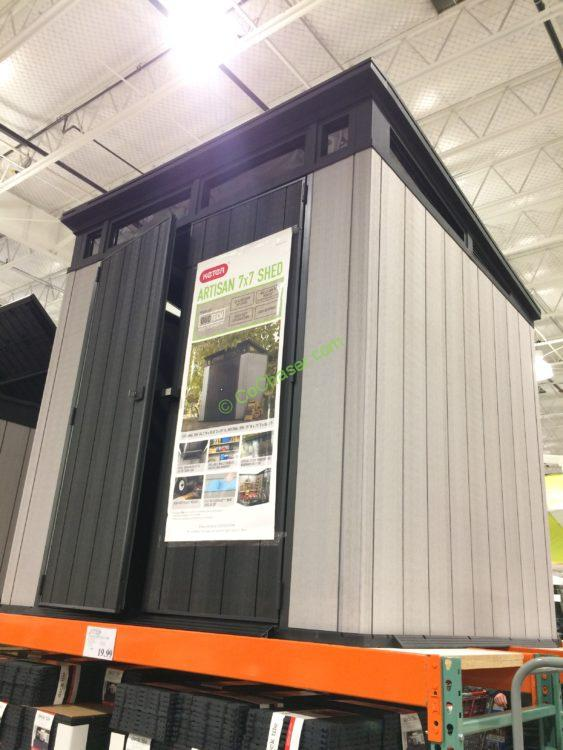 Costco-1142613-Keter-7'-7'-Resin-Outdoor-Storage-Shed