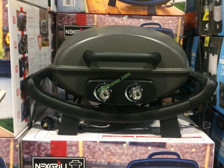 Nexgrill Cast Aluminum Table Top Gas BBQ, Model: 820-0062