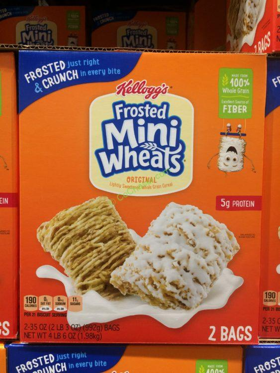 Kellogg's Frosted Mini Wheats Cereal 70 Ounce Box