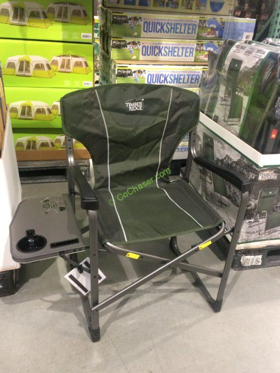 Westfield ERGO Frame Director's Chair with Side Table