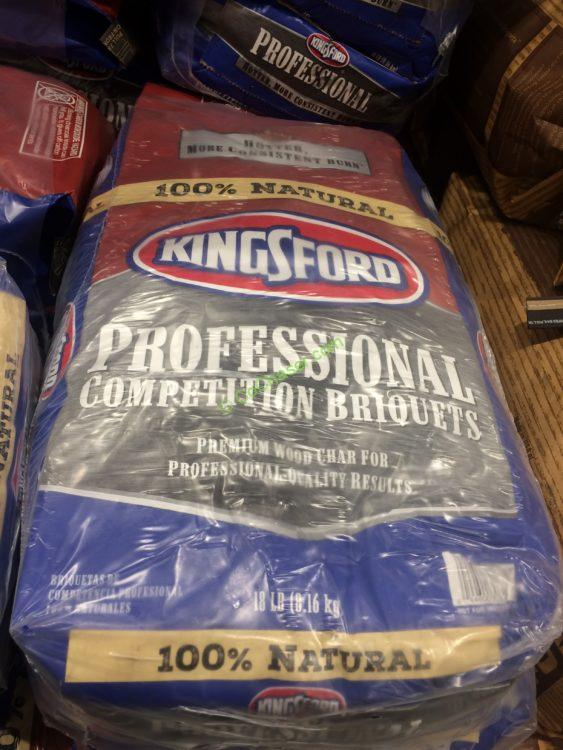 Kingsford All Natural Competition Charcoal Briquets, 2/18 Pound Bags