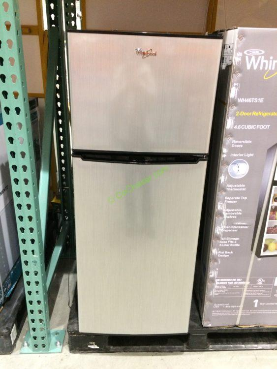 Whirlpool 2 Door Compact Fridge 4 6 Cubic Feet Model