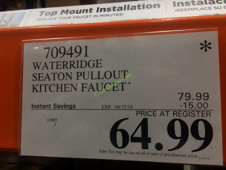 Costco Water Ridge Kitchen Faucet Review. water ridge kitchen faucet ...