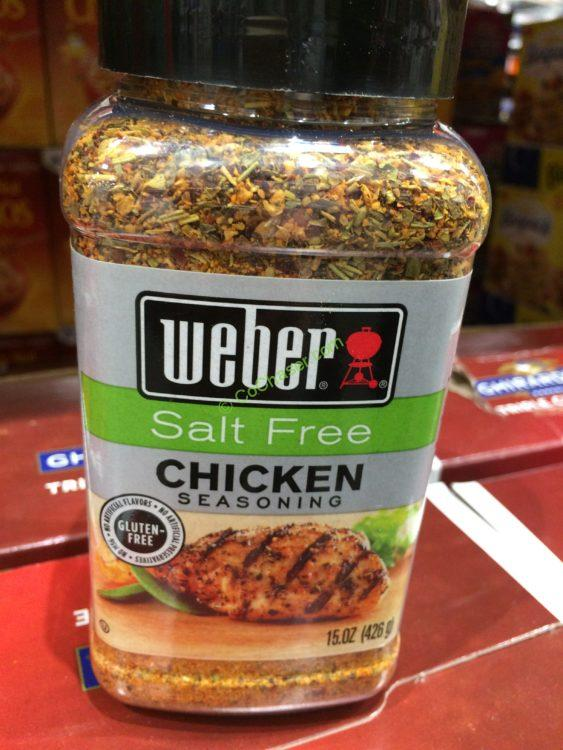Weber Grill Salt Free Chicken 15 Ounce Container