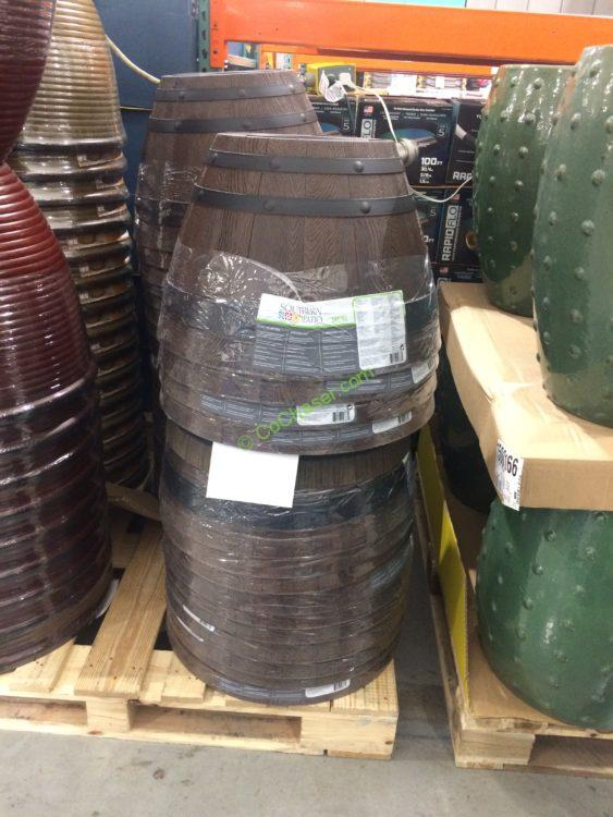 Wine Barrel Planter High Density Resin