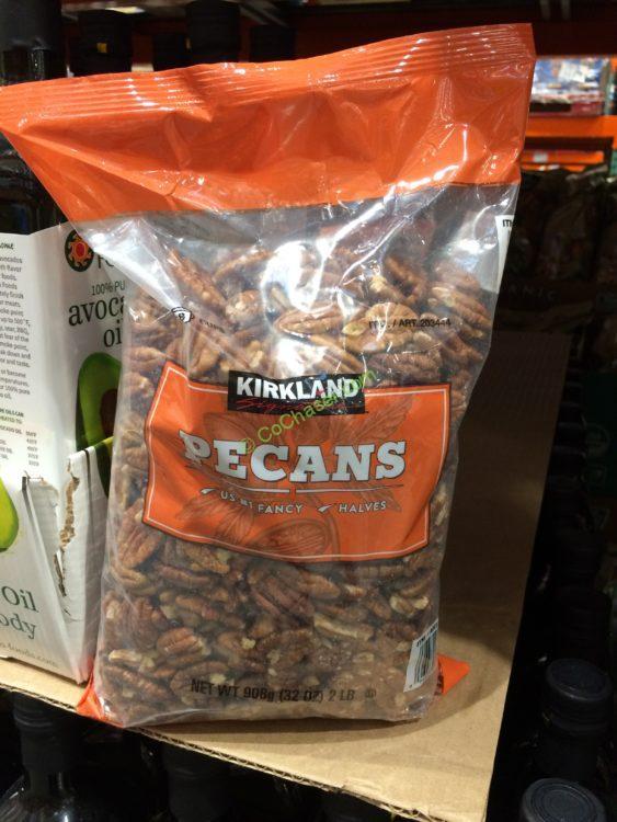 Kirkland Signature Pecan Halves 2 Pound Bag