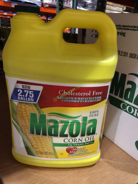 Mazola 100% Corn Oil 2.5 Gallon Container