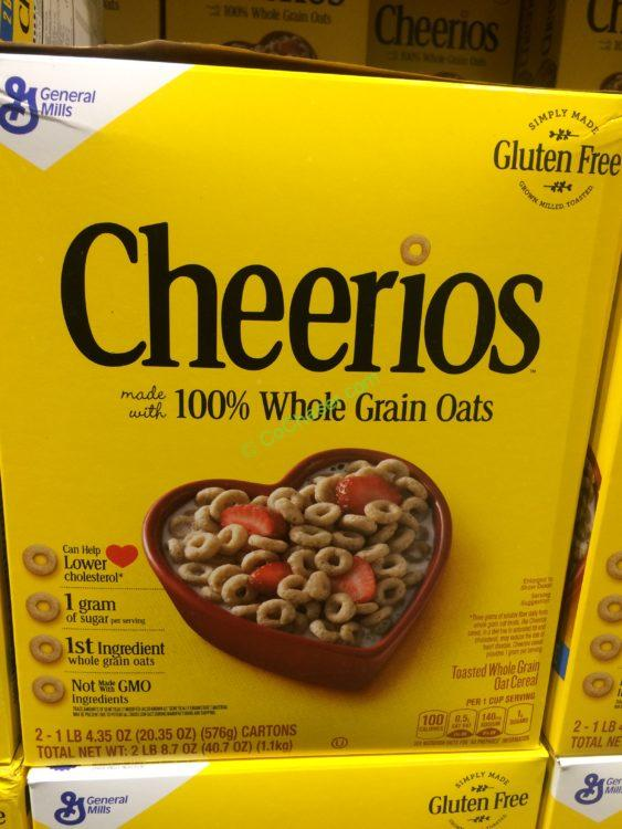 General Mills Cheerios Cereal 40.7 Ounce Box