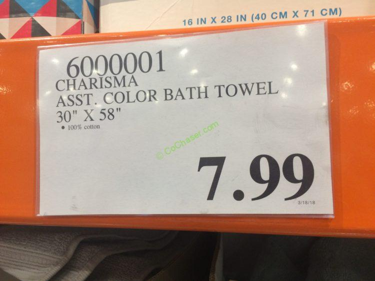 Costco-6000001-Charisma-Asst-Color-Bath-Towel-tag