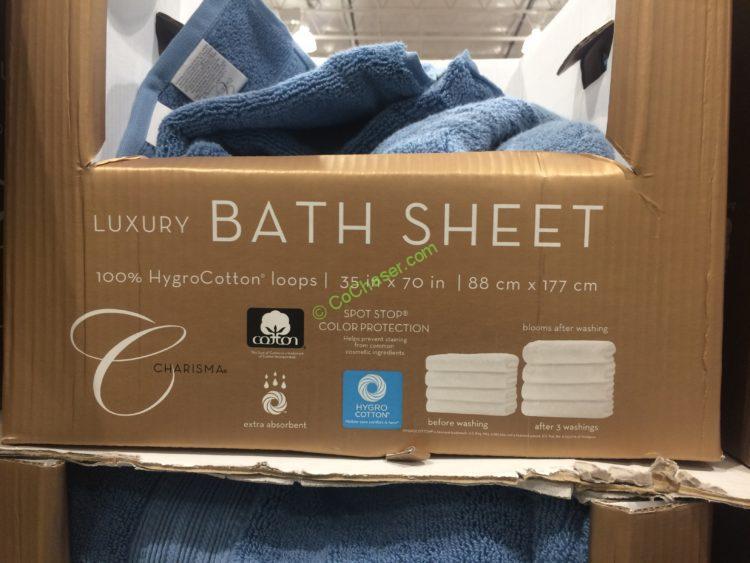 Charisma Bath Sheet 35 X 70 Costcochaser