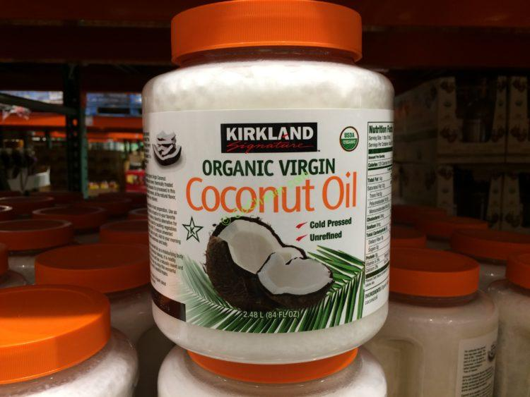 Kirkland Signature Organic Coconut Oil 84 Ounce Jars