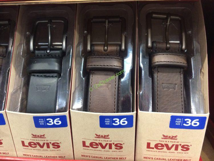 Levis Men's Leather Belt