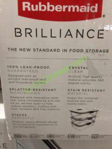 Costco-1050080-Rubbermaid –Brilliance-Food-Storage-Set-inf