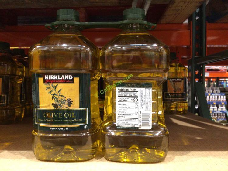 Kirkland Signature Olive Oil 2/3 Liter Bottles