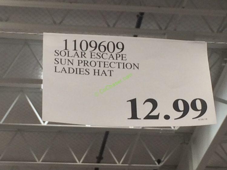 Costco-1108532-1109609-Solar-Escapes –Sun-Protection-Bucket-Hat-tag2 ... 14c90c9960a