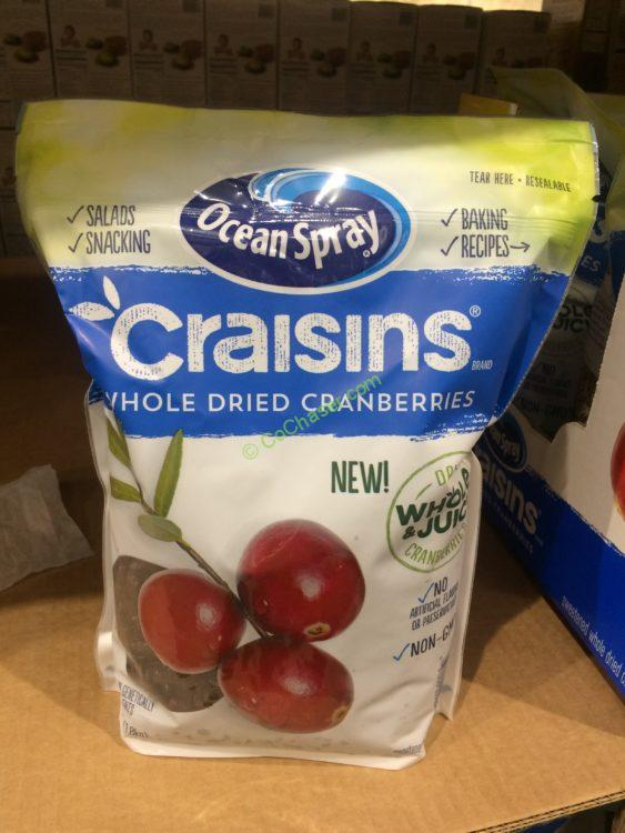 Ocean Spray Craisins 64oz Bag