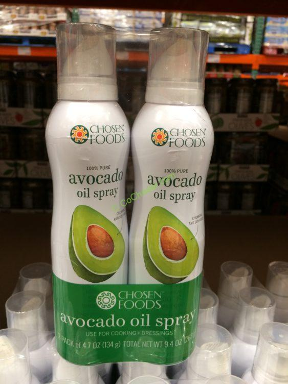 Chosen Foods Avocado Oil Spray 2/4.7 Ounce Bottles