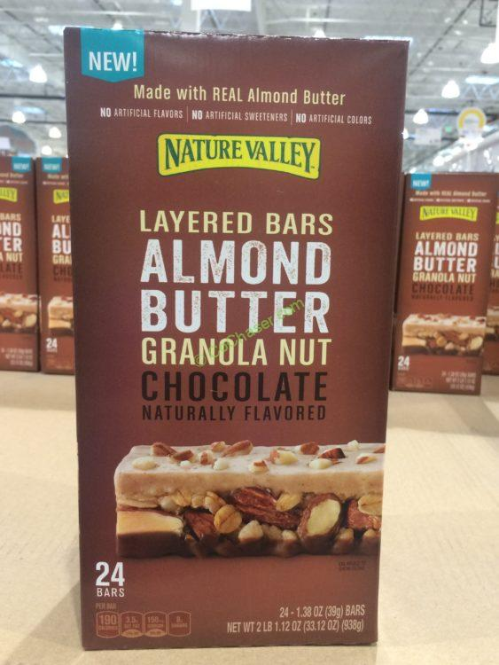 Nature Valley Almond Butter Chocolate Layered Bar 24 Count Box