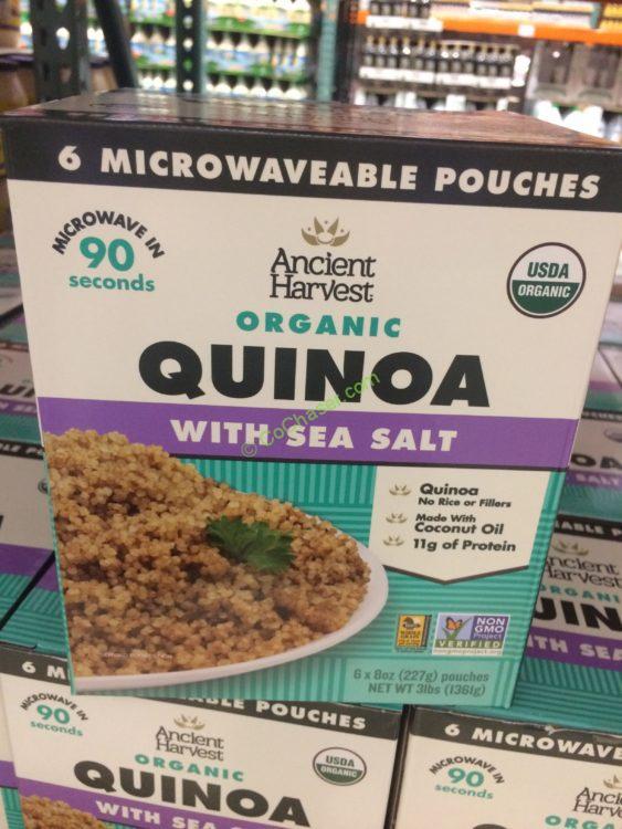 Organic Ancient Harvest Quinoa 6/8 Ounce Pouches