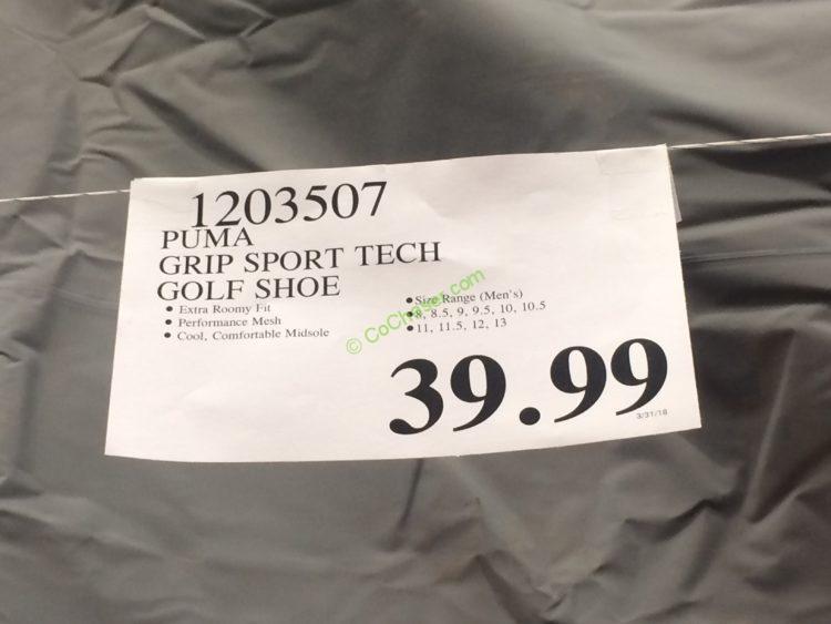 1a0266dfd0c Costco-1203507-Puma-Grip-Sport-Tech-Golf-Shoe-tag – CostcoChaser