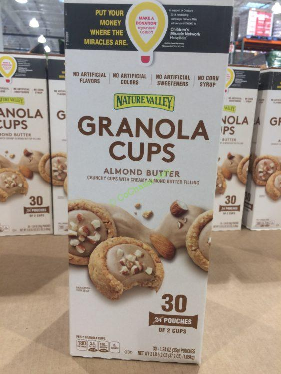Nature Valley Almond Butter Granola Cups 30 Count