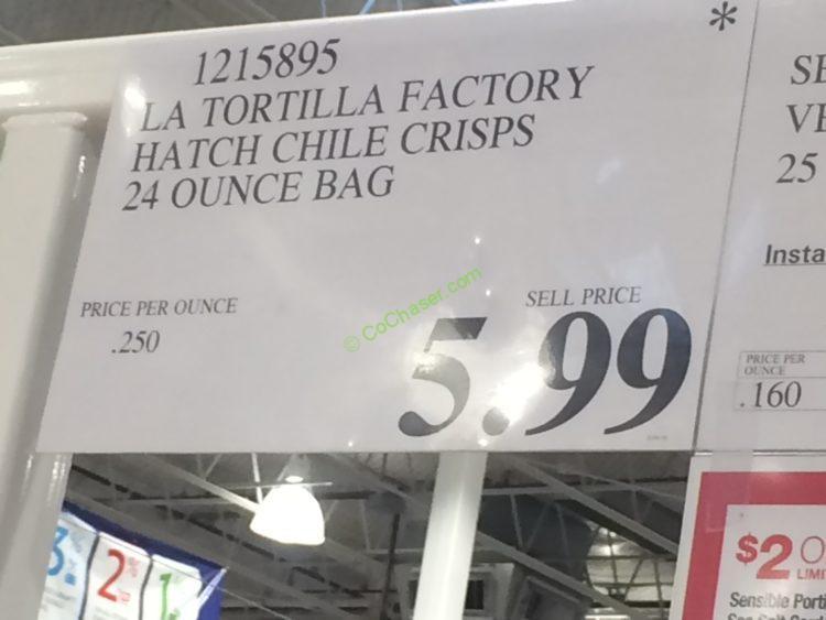 Costco-1215895-LA-Tortilla-Factoty-Churro-5050-Crisps-tag