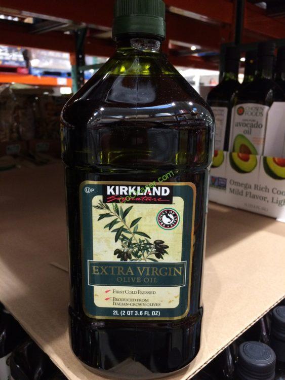 Kirkland Signature Extra Virgin Olive Oil 2 Liter Bottle