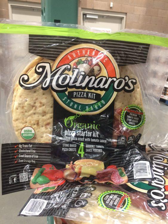 Molinaro's Organic Pizza Kit 4 Pack