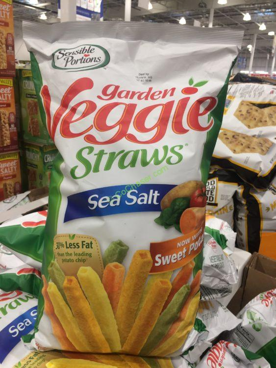 Sensible Portions Veggie Straws 25 Ounce Bag