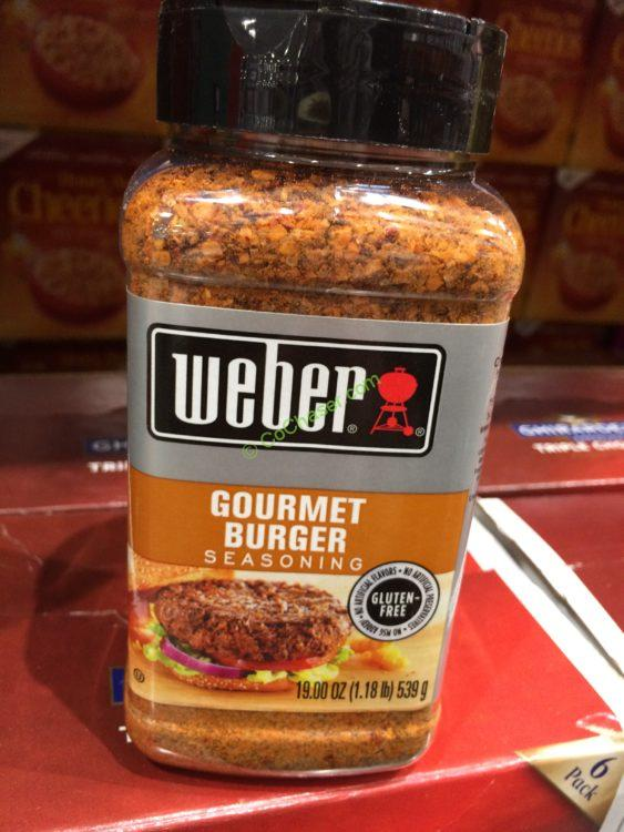 Weber Gourmet Burger 19 Ounce Container