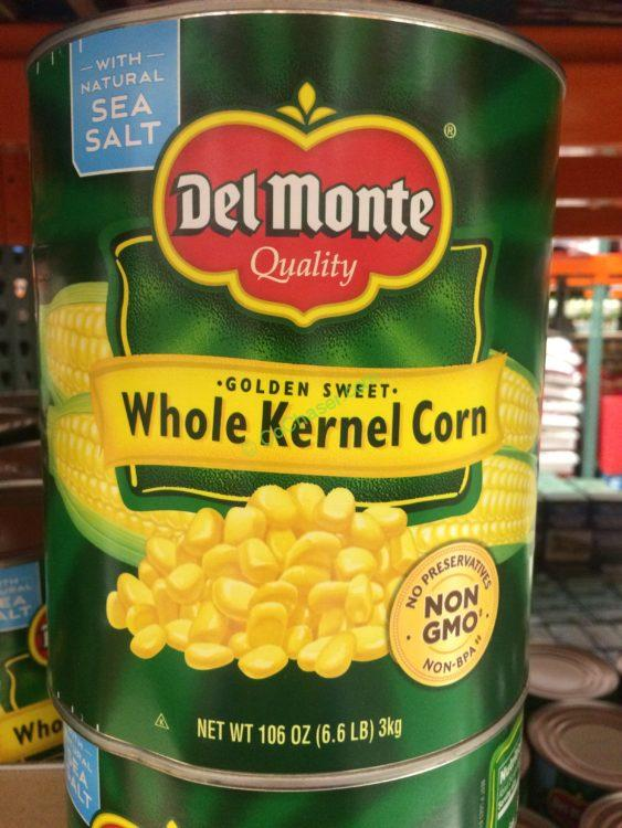 DEL Monte Whole Kernel Corn 106 Ounce Can