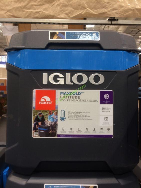 Igloo Maxcold 62QT Wheeled Cooler
