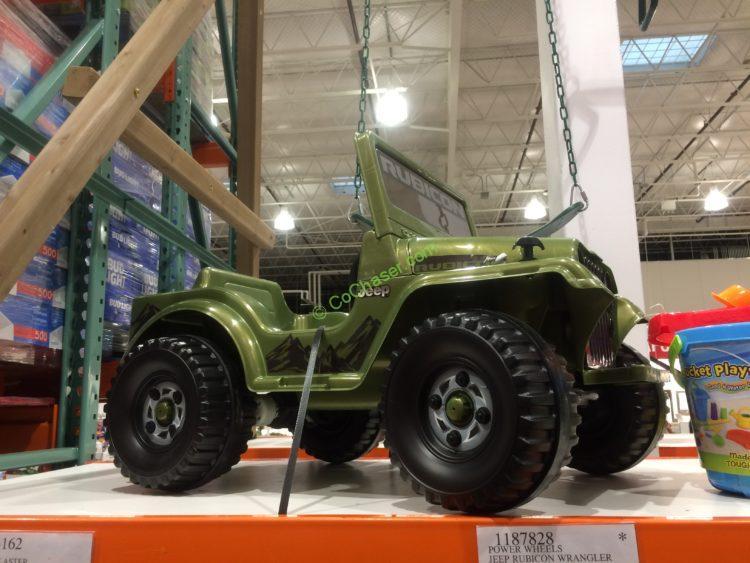 Power Wheels Jeep Rubicon Wrangler 6V Ride-On, Model# FXM32-9993