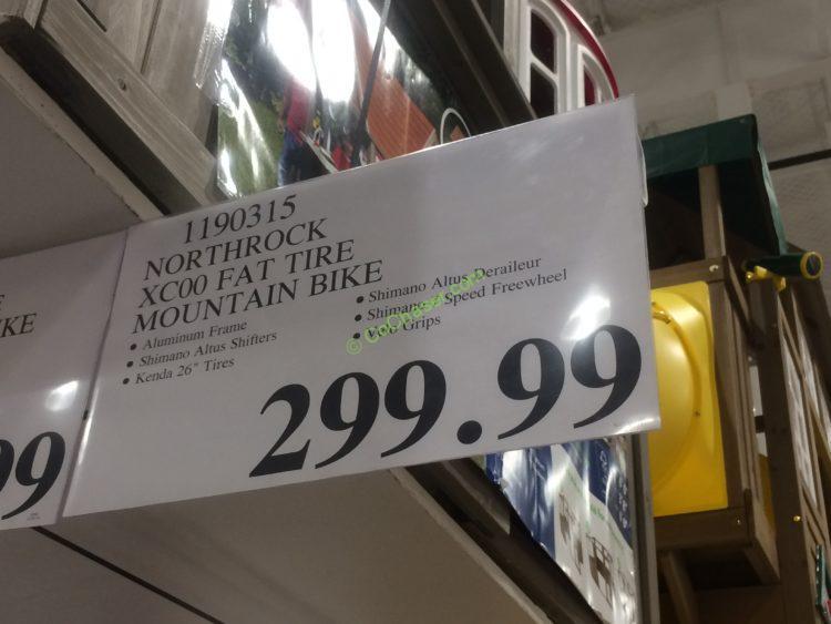 Costco 1190315 Northrock Xc00 Fat Tire Mountain Bike Tag Costcochaser