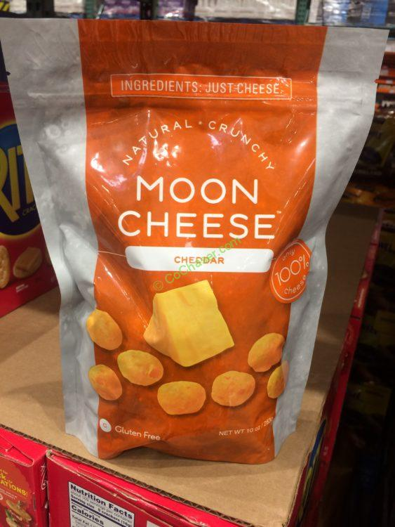 Moon Cheese Cheddar 10 Ounce Bag