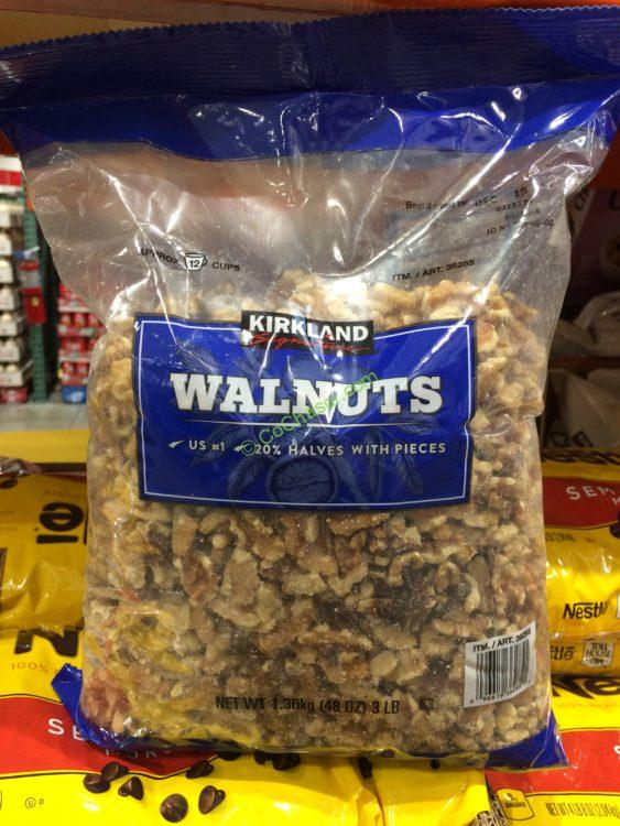 Kirkland Signature Walnuts 3 Pound Bag