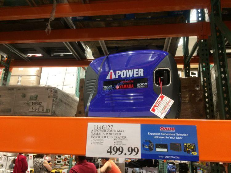 A-IPower 1600W Running / 2000W Peak Yamaha Powered Gas Inverter Generator