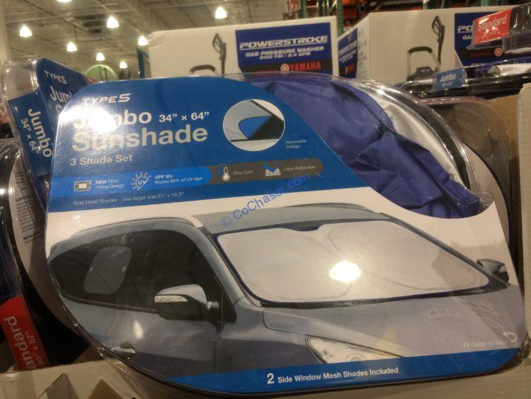 Types Interior Auto Sunshade Protection Kit