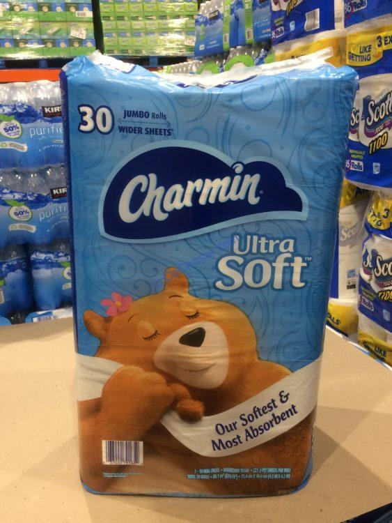 Charmin Ultra Soft 30 221 Sheet Rolls Costcochaser
