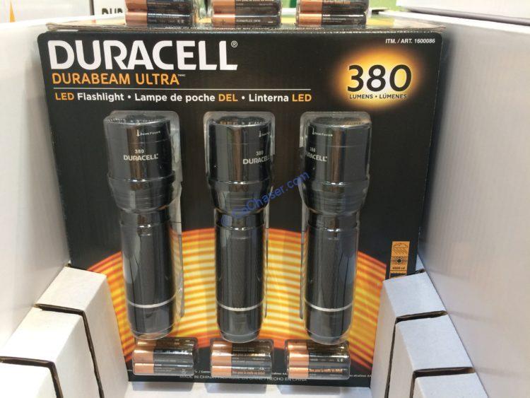 Duracell 380 Lumen Flashlights 3 Pack