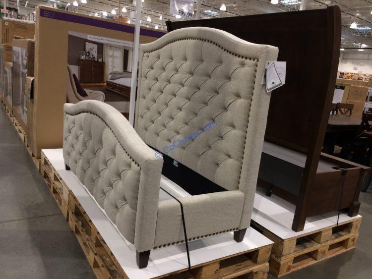 Costco-2000707-Pulaski-Furniture-Upholstered-Queen-Bed