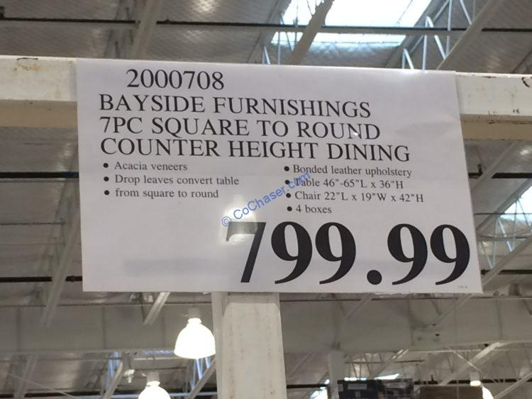 Costco-2000708-Bayside-Furnishings-7PC-Square-to-Round-Counter-Height-Set-tag