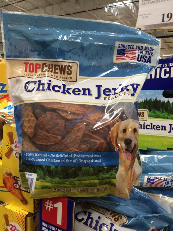 Top Chews USA Chicken Jerky 3 Pound Package