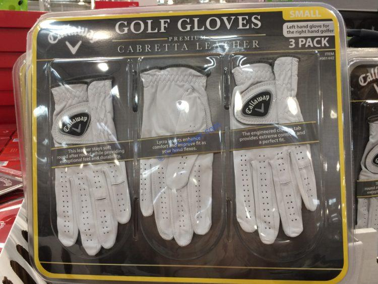 Callaway Golf Gloves 3 Pack