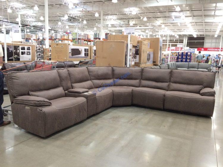 Fabric Power Reclining Sectional Costcochaser