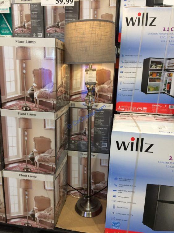 Bridgeport Designs Crystal Floor Lamp, Model# JA20451-FL
