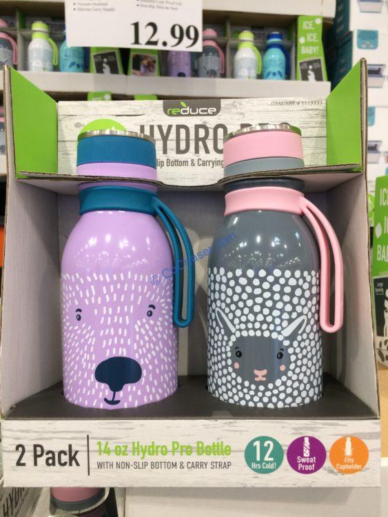 Reduce Hydro Furry Friends Water Bottle 2PK